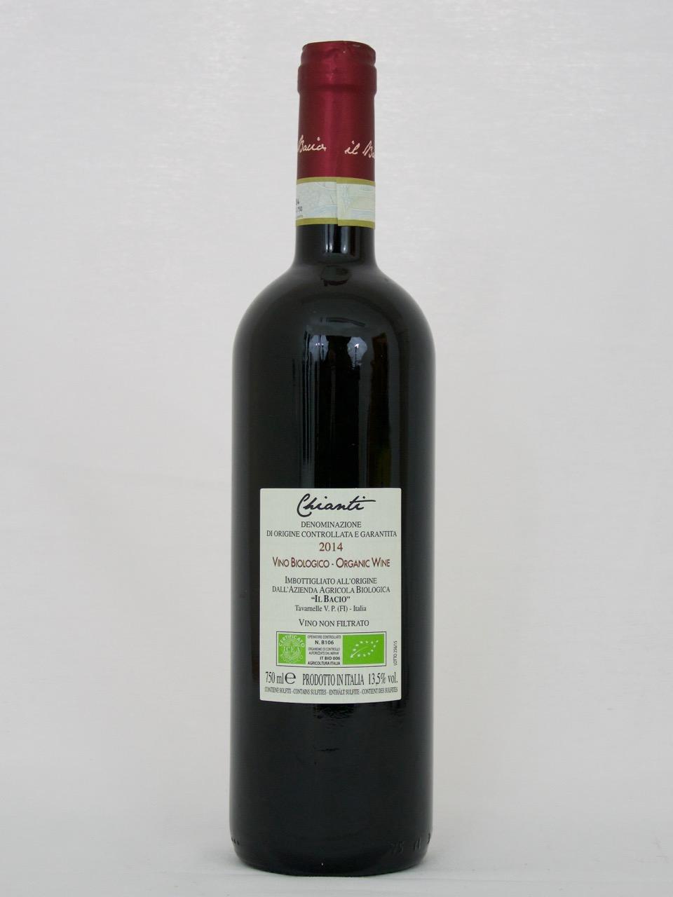 Chianti 2014 DOCG (13,5%Vol) <br /> Il Bacio