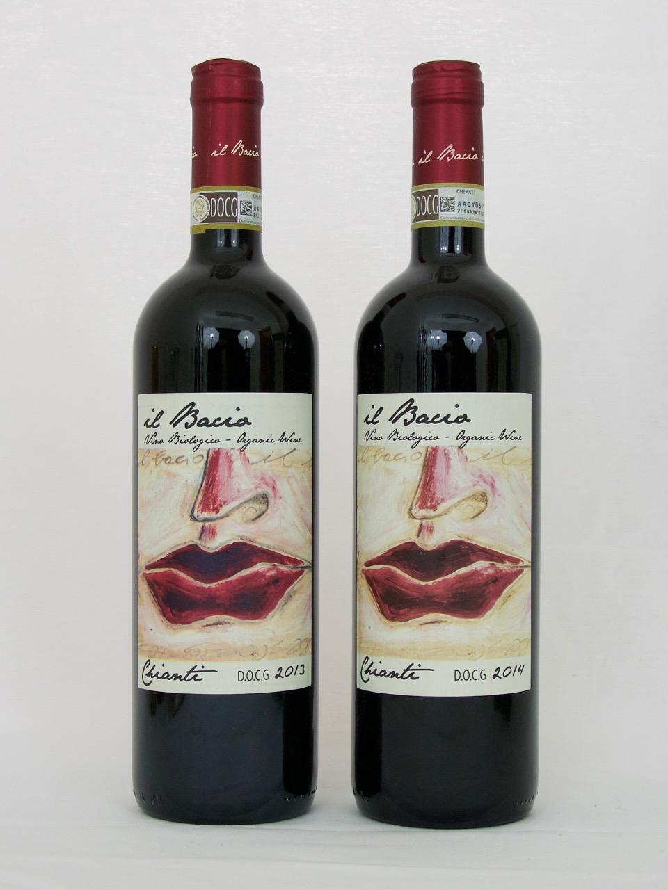 Chianti 2013 DOCG (13,5%Vol) <br /> Il Bacio