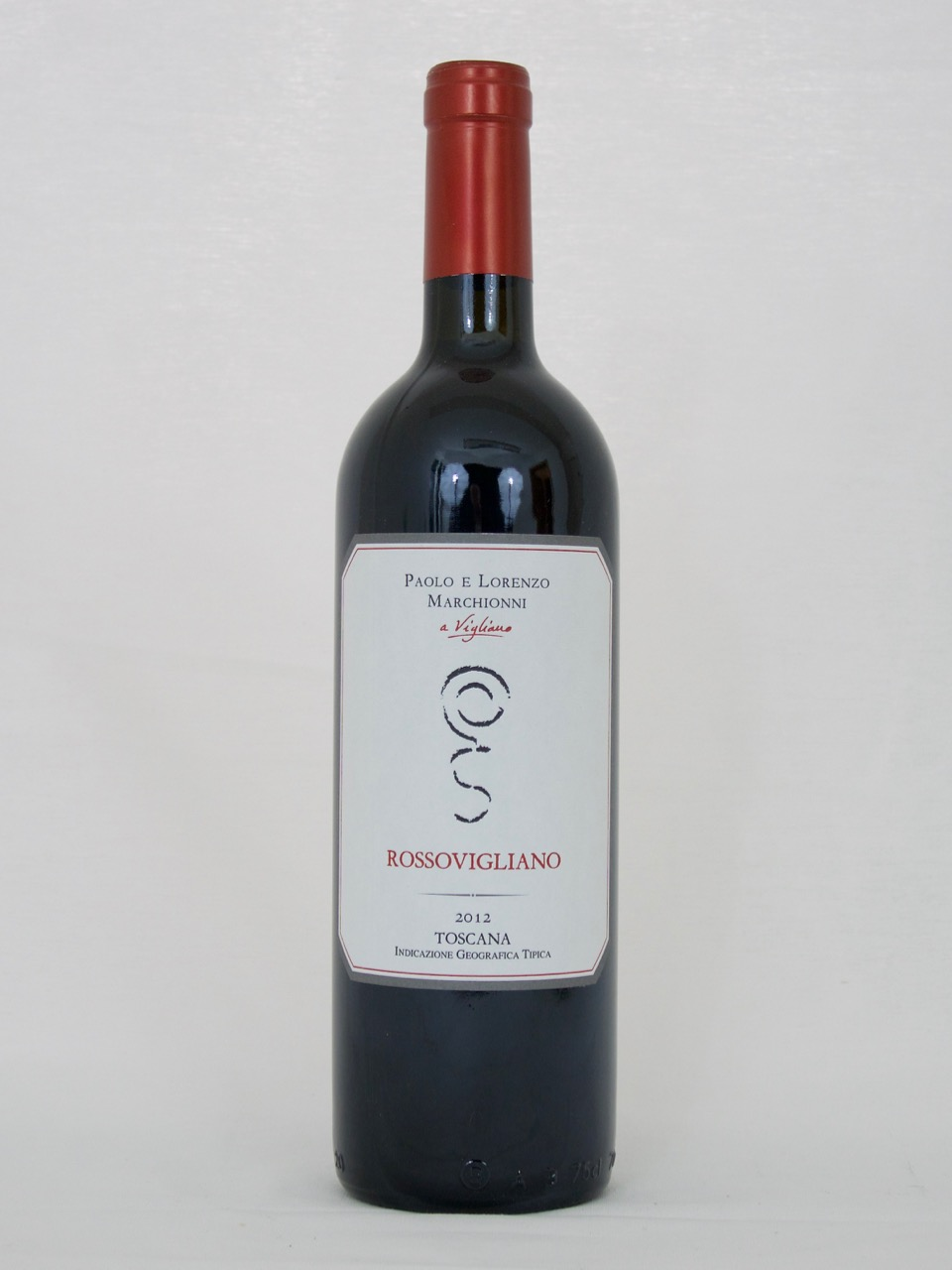 Rossovigliano IGT 2012 (13,5%Vol) <br /> Paolo e Lorenzo Marchionni
