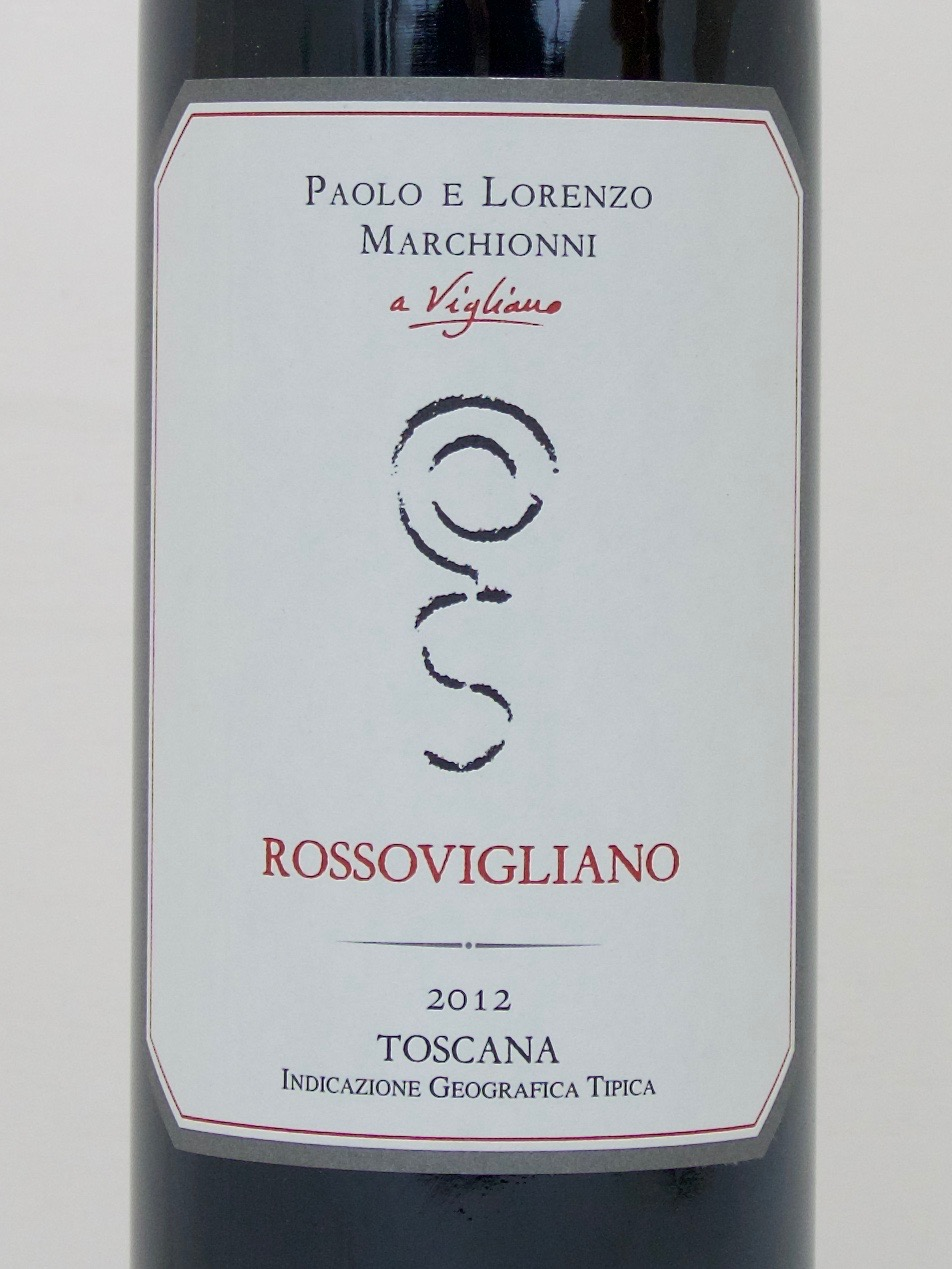 Rossovigliano IGT 2012 (13,5%Vol) <br /> Paolo e Lorenzo Marchionni
