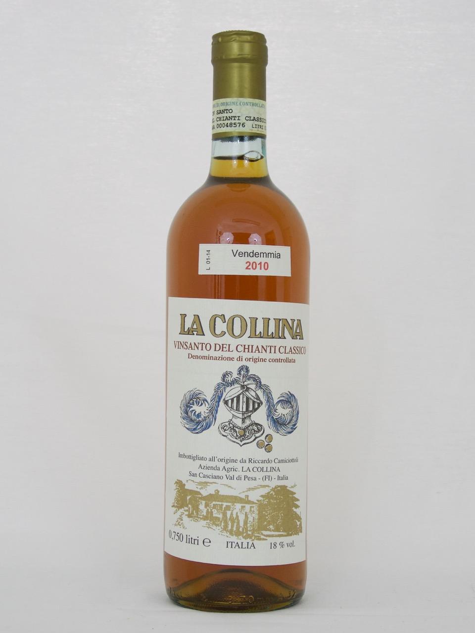 Vin Santo del Chianti Classico DOC 2010 (18%Vol) <br /> Riccardo Camiciottoli <br /> La Collina